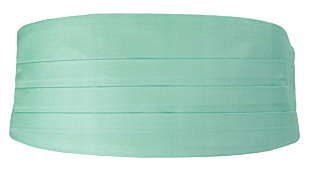 SOLID Light turquoise Kummerbund