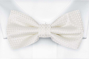 WEDLOCK Diamond white Fliege